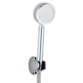 povoljno Tuš glave-aluminijska ručna garnitura za tuširanje s nehrđajućim čeličnim ojačanjima povećava pritisak u kupaonici tuš-slavina dodaci za kišu