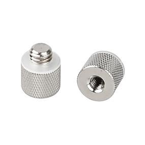 preiswerte Mikrofon-camvate 2pcs 1/4 weiblich zu 3/8 männlich Adapter für Stativ und Kamera und qr Platte / Adapter Messing c0898