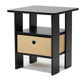 preiswerte Beistelltische-Espresso-Beistelltisch Nachttisch für Schlafzimmer oder Wohnzimmer