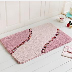 levne Podložky a koberečky-1ks Na běžné nošení Koupelnové podložky Bavlna Novinka Rozkošný