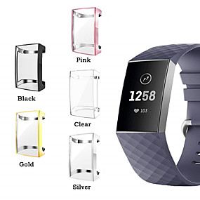 cheap Smartwatch Case-Case For Fitbit Fitbit Charge 2 Silicone Fitbit