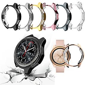 billige Smartwatch Case-Etui Til Samsung Galaxy Samsung Galaxy Watch 46 PU Samsung Galaxy