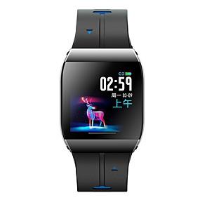 preiswerte Neuheiten-x1 smart watch 1,3 zoll große display legierung fall ip68 wasserdicht pulsmesser 30 tage lange zeit standby smartwatch