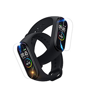 cheap Smartwatch Screen Protectors-Screen Protector HD Protective Film for Xiaomi Mi Band 4 Smart Watch 1PC