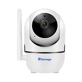 cheap Indoor IP Network Cameras-Wifi remote surveillance camera Wireless camera AI smart tracking home HD network camera 1 million pixels 720P without card