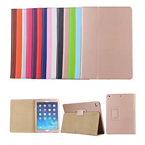 cheap iPad case-Case For Apple iPad Mini 3/2/1 / iPad Mini 4 / iPad Mini 5 with Stand / Flip Full Body Cases Solid Colored Hard PU Leather