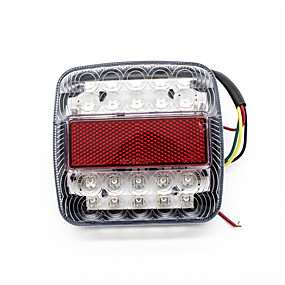 5Pcs LED Indicator Light Panel LED Light 12V Gm Motorboat Truck LED Indicator Light Car Accessories