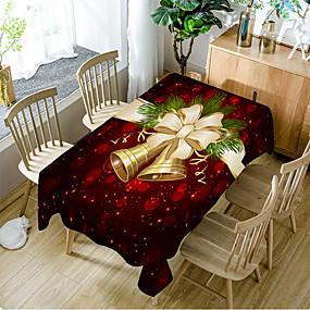 preiswerte Partydekoration-Klassisch Polyesterfaser Quadratisch Tischdecken Tischdekorationen