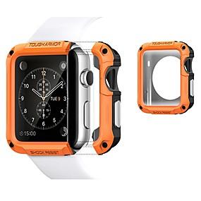 billige Smartwatch Case-tilfeller for Apple Watch serien 4/3/2/1 plast / tpu kompatibilitet eple