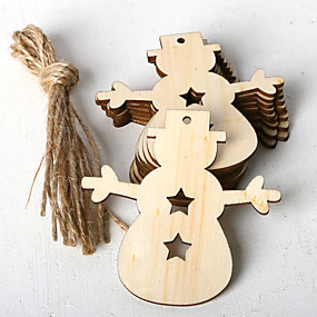 povoljno Darovi i pokloni za zabave-ukrasi drvo 10 Božić