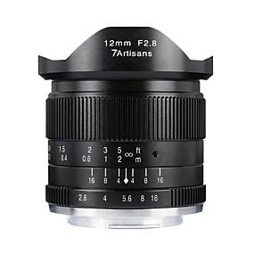 cheap Lenses-7Artisans Camera Lens 7Artisnas12mmF2.8M43-BforCamera