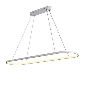 preiswerte Befestigungen für Beleuchtung-Jsgylights geometrische Insel Kronleuchter Umgebungslicht lackiert Aluminium Silikagel neues Design 110-120V / 220-240V warmweiß / weiß