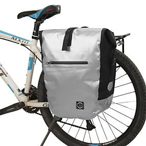 preiswerte Radtaschen-16 L Fahrrad Kofferraum Tasche / Fahrradtasche Multifunktions Reflexstreiffen Langlebig Fahrradtasche PVC 600D Polyester Tasche für das Rad Fahrradtasche Radsport Outdoor Übungen Fahhrad