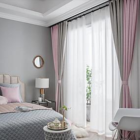 preiswerte Renovierung-Verdunkelung zwei Panele Vorhang Wohnzimmer   Curtains