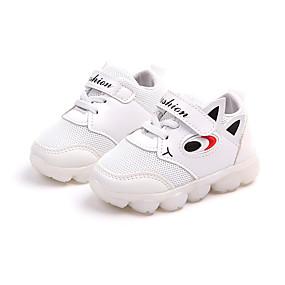 preiswerte Schuhe für Kinder-Mädchen Leuchtende LED-Schuhe PU Sneakers Kleine Kinder (4-7 Jahre) / Große Kinder (ab 7 Jahren) Walking LED Purpur / Rot / Rosa Frühling / Sommer / Gummi