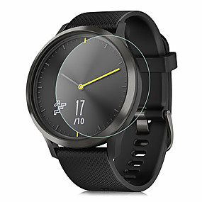 cheap Smartwatch Screen Protectors-Screen Protector for Garmin Vivomove/Vivomove HR Tempered Glass Transparent High Definition (HD) 1 pc Scratch Proof/9H Hardness