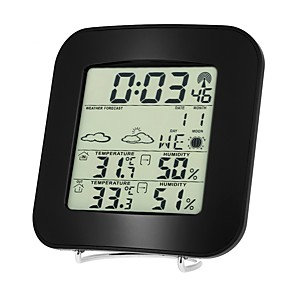 cheap New Arrivals-TS-73 Wireless barometer indoor and outdoor thermometer and hygrometer clock thermometer and hygrometer