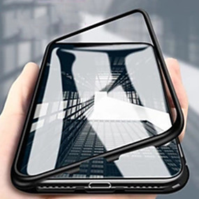 povoljno Maske za mobitele-Θήκη Za Xiaomi Xiaomi Redmi Note 7 / Xiaomi Redmi Note 7 Pro / Xiaomi Mi 9 Zaokret / Prozirno / S magnetom Korice Jednobojni / Prozirno Aluminij