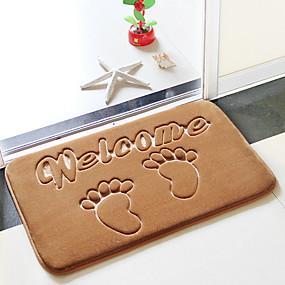 levne Podložky a koberečky-1ks Moderní Koupelnové podložky 100g / m2 polyesterový elastický úplet Novinka kreativita