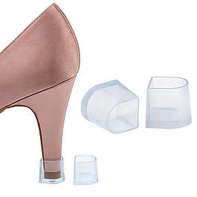 preiswerte Schuhe Zubehör-2pcs Federung Einlegesohlen & Einlagen Kunststoff Ferse Frühling Unisex Weiß