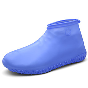 preiswerte Schuh Cover-1 Paar Herrn Schuh Abdeckungen Standard 3D-Druck Sport Simple Style Silikon EU40-EU46