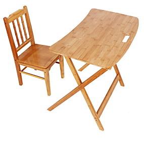 preiswerte Möbel-OutdoorKlapptische Vintage Stil Massivholz Braun