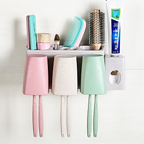 cheap Bathroom Gadgets-Tools Creative / Novelty Modern Contemporary PP 2pcs - tools Toothbrush & Accessories