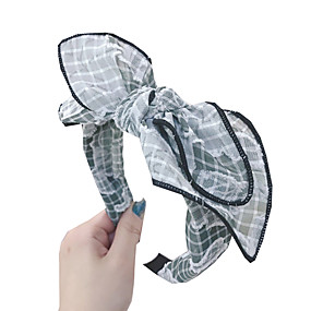 cheap Hair Accessories-Headbands Hair Accessories Other Material Wigs Accessories Women's 1 pcs pcs cm Casual / Daily Ordinary / Headpieces / Leisure Portable / Women / Comfortable