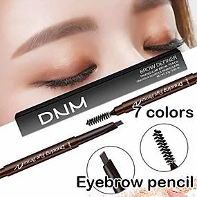 halpa Silmät-kaksinkertainen pää kulmakynä vesitiivis kulmakynä kynä harja meikki kosmeettinen työkalu