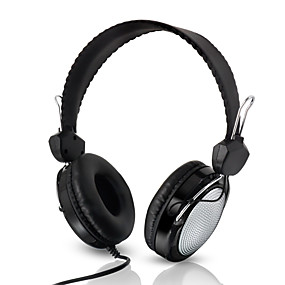 cheap Computer & Office-T-420 Over-ear Headphone Wired Travel Entertainment Stereo with Microphone