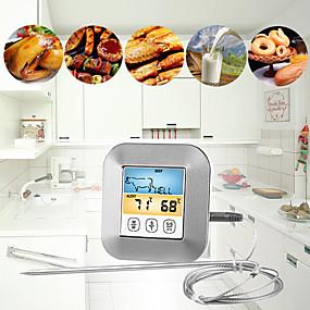 levne Super Sleva-kuchyně časovač bbq teplota vaření jídlo maso gril bbq vodotěsné sondy trouba vaření metr alarm displej barevné obrazovky