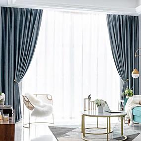preiswerte Renovierung-Privatsphäre zwei Panele Vorhang Wohnzimmer   Curtains