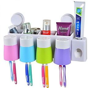 cheap Bathroom Gadgets-Tools Creative / Novelty Modern Contemporary Plastics 2pcs - tools Toothbrush & Accessories