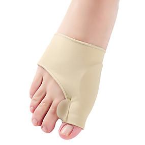 billiga Skin Care-1pair tå separator hallux valgus bunion corrector orthotics fötter ben tum tumjustering korrigering pedicure sock rätare