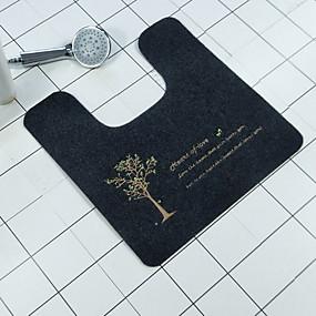 levne Podložky a koberečky-Moderní Koupelnové předložky 100g / m2 polyesterový elastický úplet Novinka 5mm Koupelnové kreativita