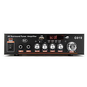 preiswerte KfZ Audio-High-Fidelity-Digital-Leistungsverstärker unterstützt MP3-Format eingebaute Bluetooth steckbare u Festplatte TF-Karte FM-Radio mit Infrarot-Fernbedienung