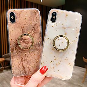povoljno Cool i modni slučajevi za iPhone-Θήκη Za Apple iPhone XS / iPhone XR / iPhone XS Max S magnetom Stražnja maska Mramor TPU