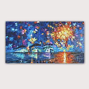 preiswerte Bekannte Meisterwerke-Handgemaltes Ölgemälde 3d - abstrakte moderne gerollte Regenszene der Segeltuchqualität des abstrakten Porträts