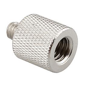 preiswerte Mikrofon-Camvate 3 / 8-16 Innengewinde auf 1 / 4-20 Außengewinde Stativ Reduzierstück / Adapter Messing neu c0906