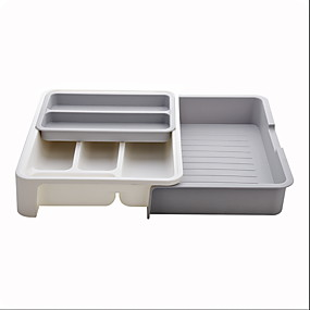 cheap Racks & Holders-High Quality with Plastics Storage Boxes Cooking Utensils Kitchen Storage 1 pcs