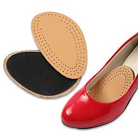 preiswerte Schuhe Zubehör-1 Paar Orthesen Einlegesohlen & Einlagen Leder Vorfuß Frühling Unisex Hautfarben