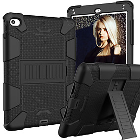 preiswerte 88Electronics-Hülle Für Apple iPad Mini 5 / iPad Mini 4 mit Halterung / Kindersicherung Fall Rückseite Rüstung Silica Gel