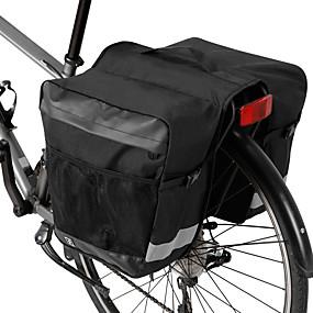 preiswerte Radtaschen-28 L Fahrrad Kofferraum Tasche / Fahrradtasche Wasserdicht Tragbar tragbar Fahrradtasche 600D Polyester Wasserdichtes Material Tasche für das Rad Fahrradtasche Radsport Outdoor Übungen Fahhrad