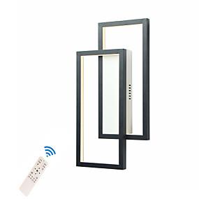 povoljno Sales-led20w zidna svjetla / kreativni moderni ugradbeni zid zidni sconces dnevni boravak / radna soba / ured aluminij crno / bijelo / zlato / toplo bijelo / bijelo / prigušivanje s daljinskim upravljačem /
