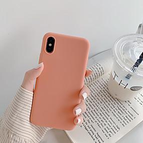 preiswerte Cool & Fashion Hüllen für iPhone-Hülle Für Apple iPhone XS / iPhone XR / iPhone XS Max Staubdicht / Ultra dünn Rückseite Solide / Cartoon Design TPU