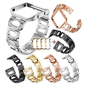 preiswerte Smartwatch-Fall-Fall mit Band Für Fitbit Blaze Edelstahl / Aleación Kompatibilität Fitbit