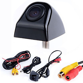 cheap Car Rear View Camera-Waterproof Night Vision CCD Car Rear View High-definition Camera with 170 Degree Viewing Angle Reversing Reference Line for Car Truck Van
