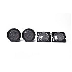 preiswerte Car Signal Lights-Yiwu pau_03w0 passend für Jeep Wrangler Blinker + Kotflügel Seitenlicht Werkzeugsatz schwarz _a1372
