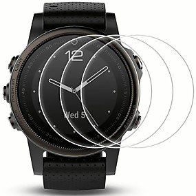 cheap Smartwatch Screen Protectors-Screen Protector for Garmin Fenix 5 /Fenix 5s Tempered Glass Transparent High Definition (HD) Scratch Proof/9H Hardness