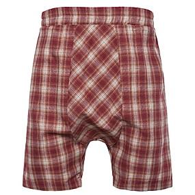 preiswerte Herrenmode-Herrn Grundlegend Schlank Kurze Hosen Hose - Verziert Rote Braun Beige US34 / UK34 / EU42 US36 / UK36 / EU44 US38 / UK38 / EU46